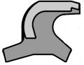 Metal Clad Wiper, Dual Lip