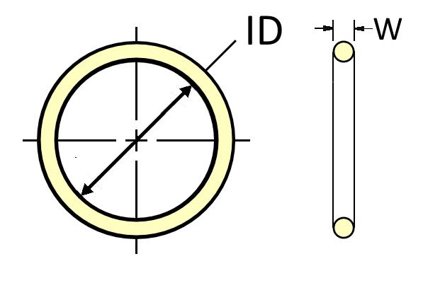 O-Ring, AS568, 2-XXX, Urethane