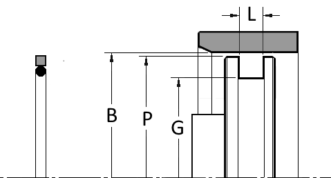 PTFE Seal, Square