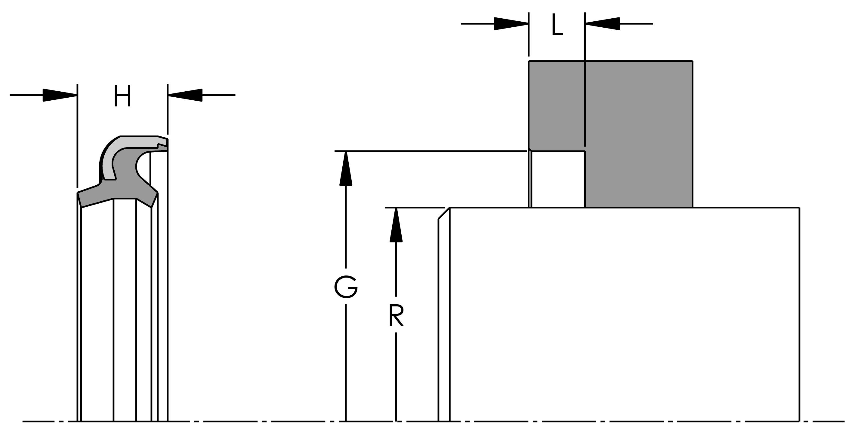 WC02 - DUAL LIP METAL CLAD WIPER